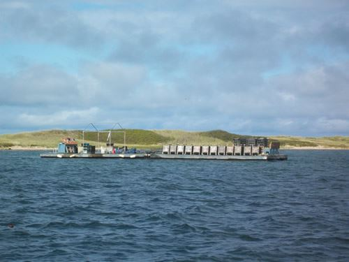 Napeague Harbor Field Grow-Out Barge
